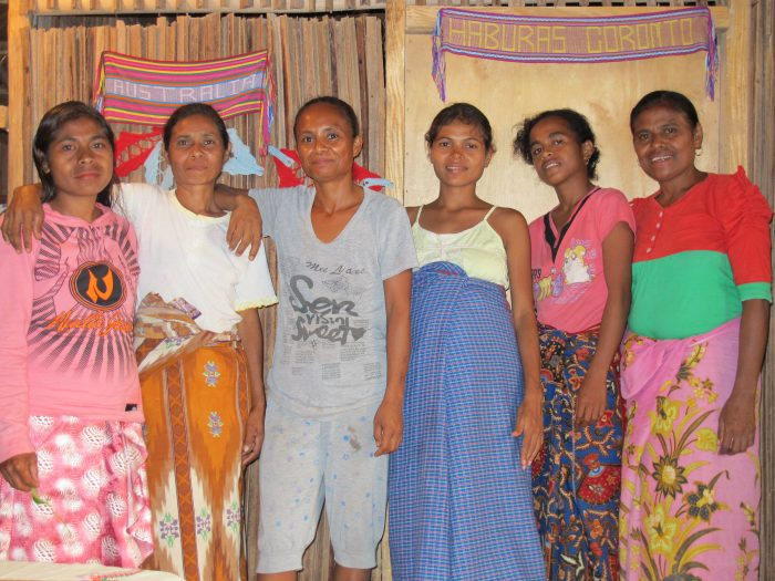Haburas Goronto women's group in Timor-Leste. Photo: Georgia Ride
