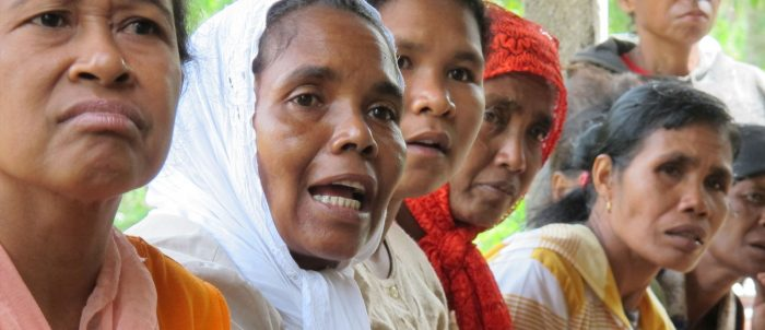 Organisasaun Haburas Moris women's exchange