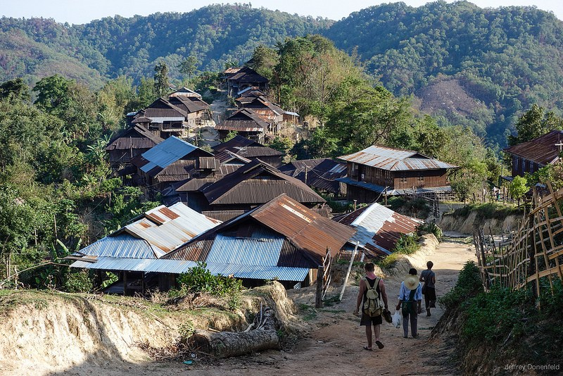Mountain Villages of Northern Shan State, Myanmar. Photo: Jeffrey Donenfeld