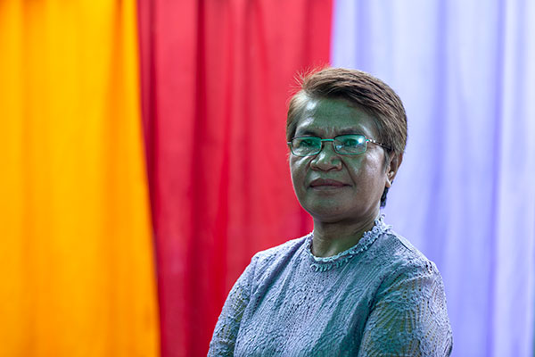 Aida Exposto, Director of the Secretariat of Rede Feto, Dili, Timor-Leste, 2019