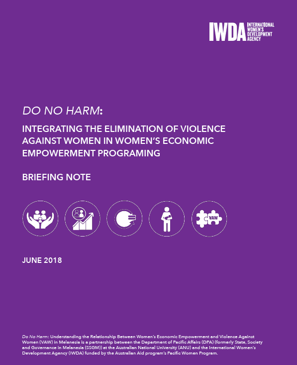 Do No Harm Briefing Paper