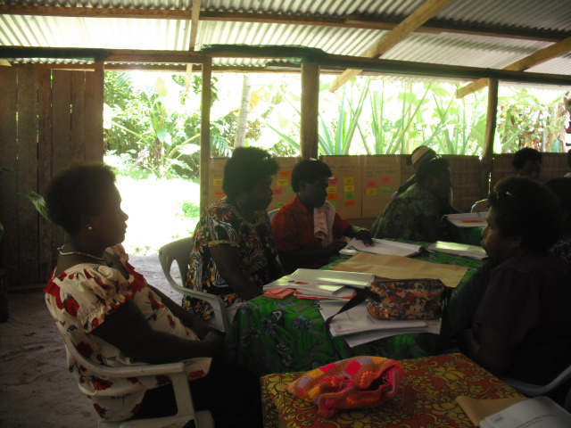 The finance training in Bougainville supported IWDA partners to build their financial management skills. Photo: Suzanne Fletcher