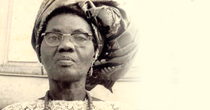 Funmilayo Ransome-Kuti on her 70th Birthday. Photo: UNESCO/Wikimedia Commons