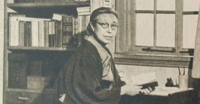 Raichō Hiratsuka in 1949. Photo: Wikimedia Commons