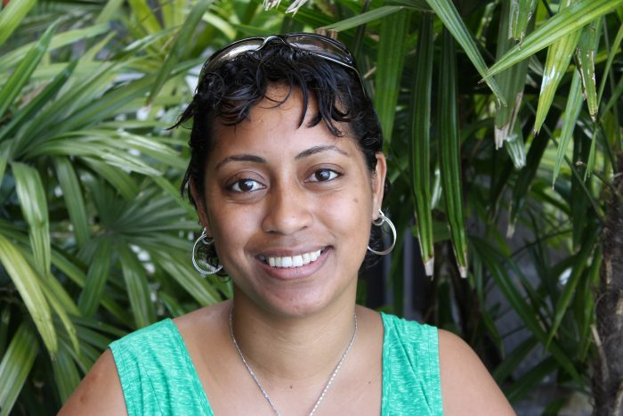 Maraiaa Tabunakawai, Girls Officer for Fiji Women's Rights Movement. Photo: Kristy Nowland
