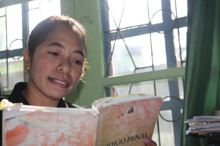 Marcelina, a Legal Aid Officer in Timor-Leste