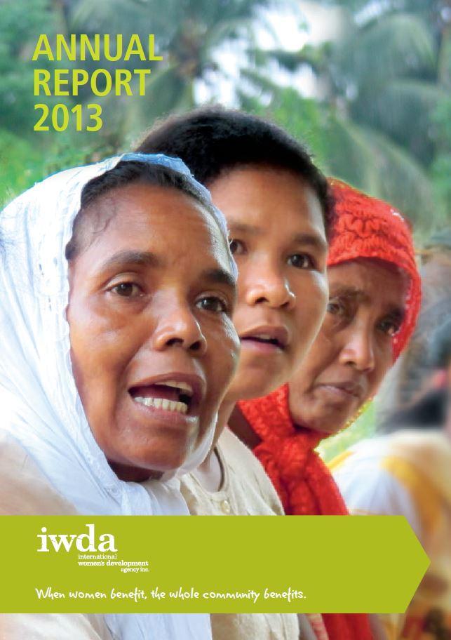 IWDA Annual Report 2013