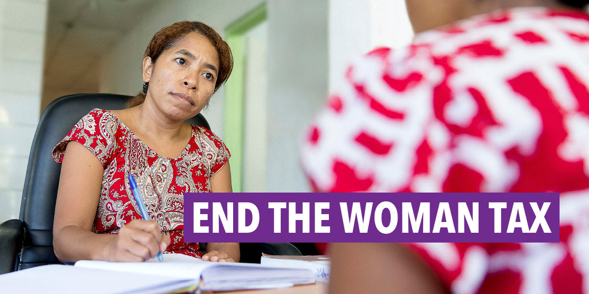 End The Woman Tax