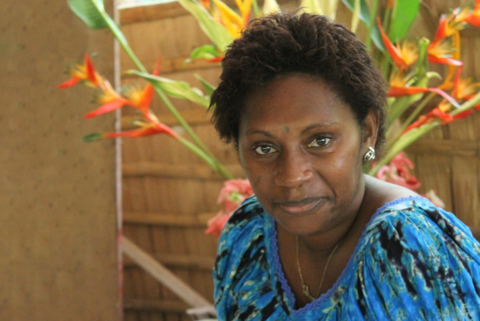 Isabel Koredong of Bougainville Women's Federation. Photo: Richard Eves