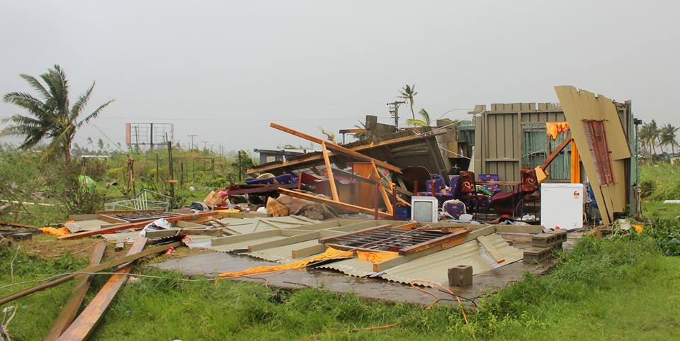 The devastation left by Cyclone Winston. Photo: FWRM