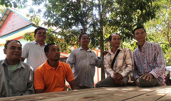 Members of Banteay Srei's Good Men's Network, Cambodia