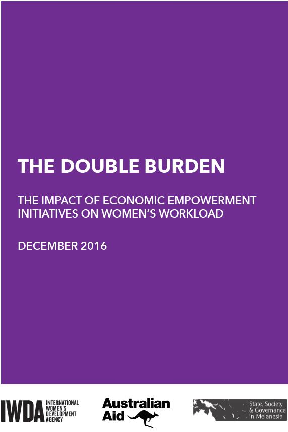 Image of the Double Burden Report's cover.