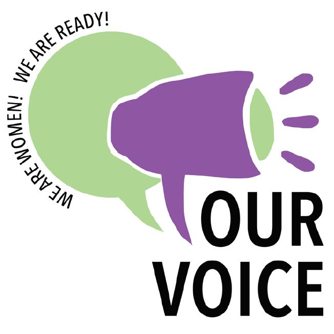 Our Voice: We are women! We are ready!