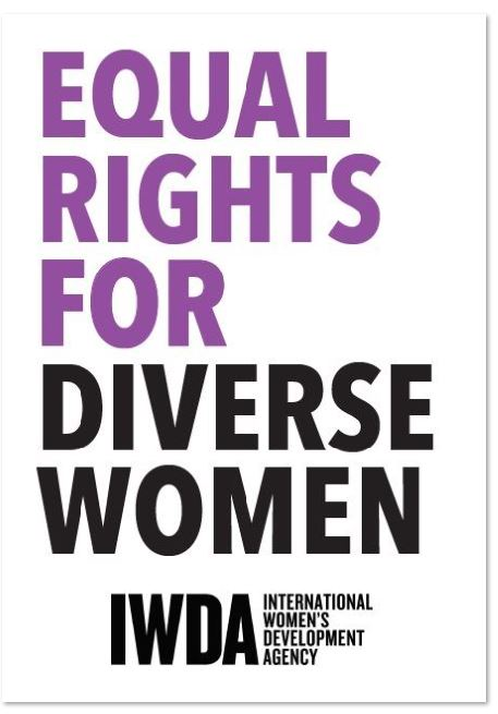 A3 Poster:Equal rights for diverse women