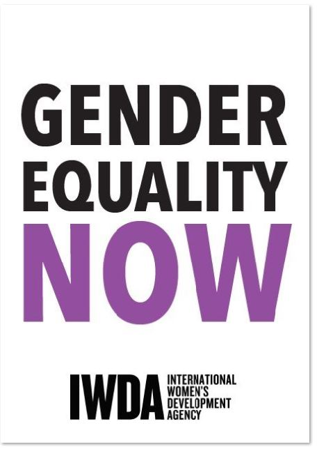 A3 Poster: Gender Equality Now
