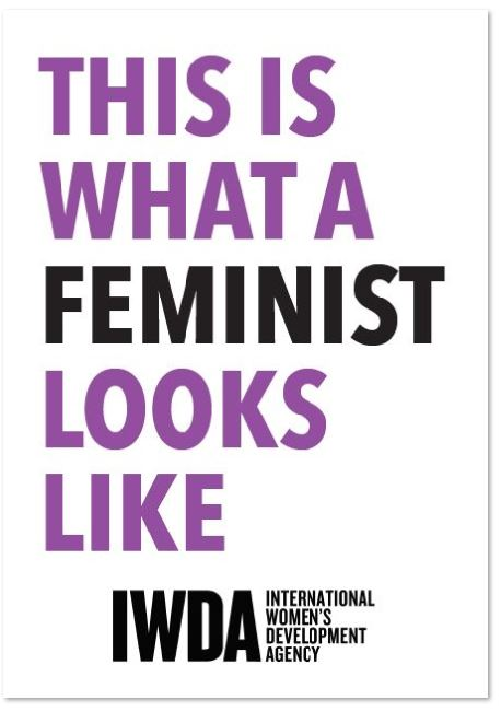 Poster: This is what a feminist looks like