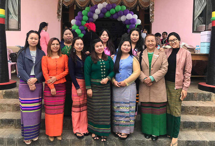 Shan Women's Action Network (SWAN) 20th anniversary celebrations in Myanmar.