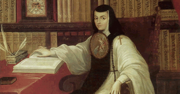Sor Juana by Miguel Cabrera. Photo: Wikimedia Commons