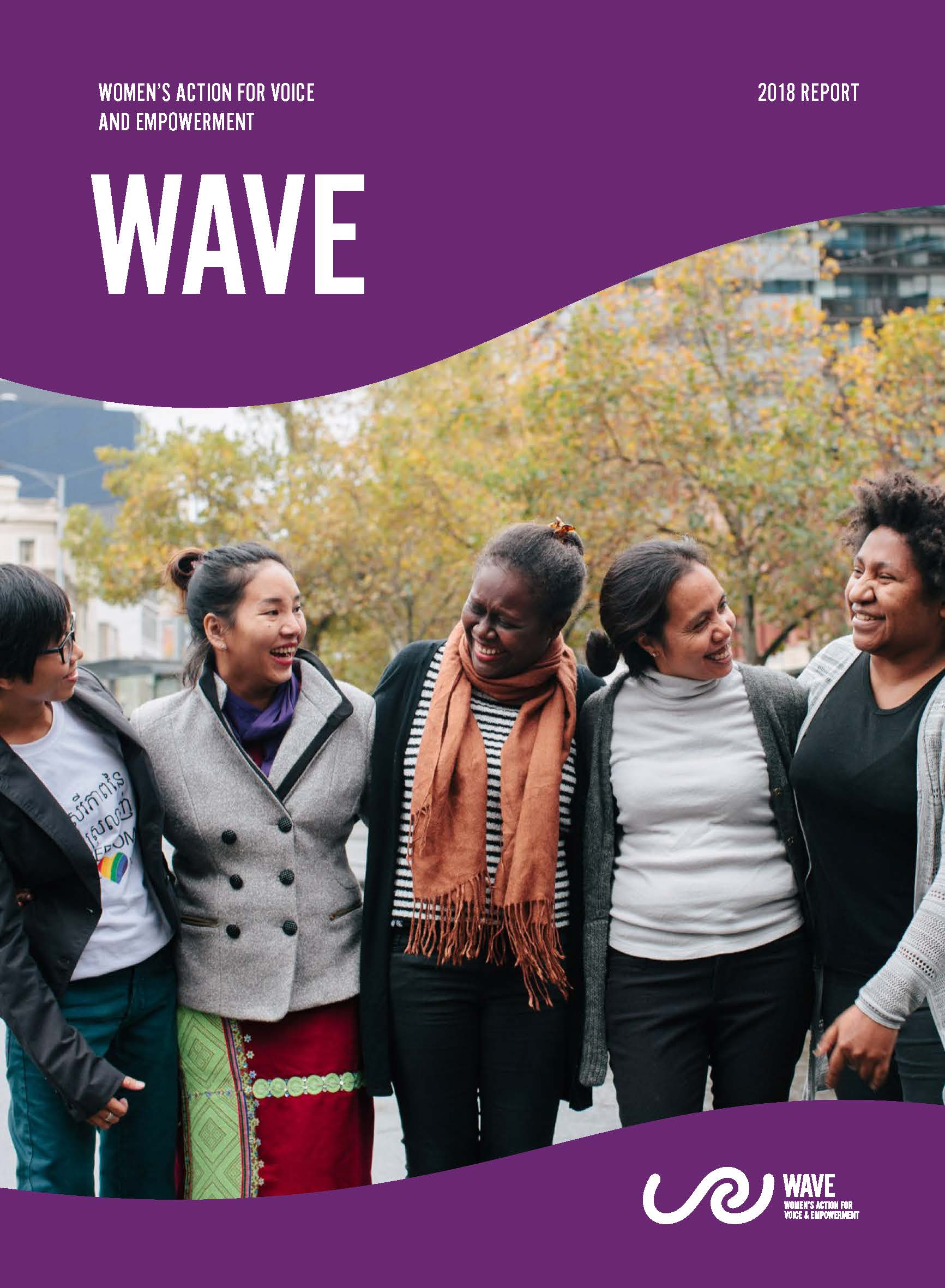 WAVE 2018 Annual Report cover