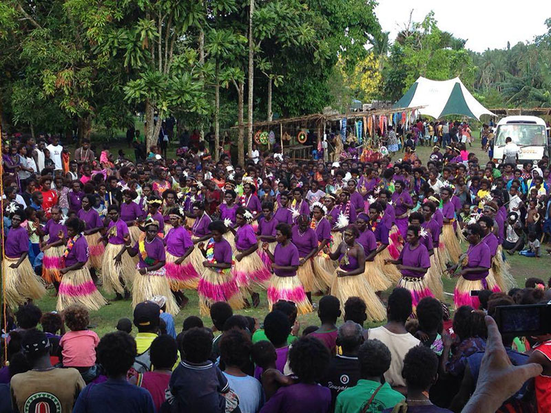 The 2018 Bougainville Women Human Rights Defenders Forum.