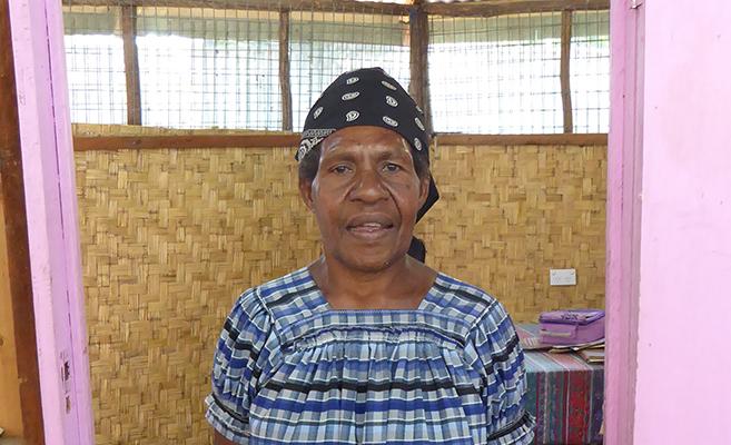 Wendy Kosi of Voice for Change. Photo: Elenda Leddra