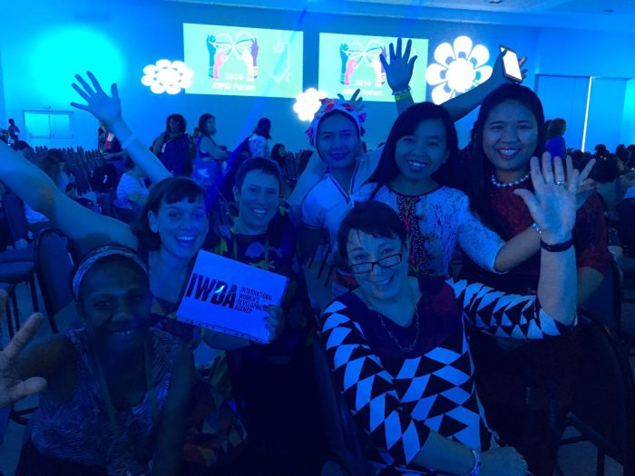 Women of IWDA and our partners. Photo: Jen Clark
