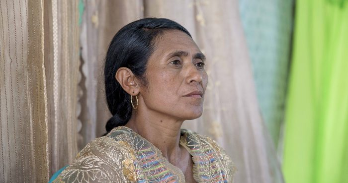 Rita Sarmento, a woman running for Village Chief in Timor-Leste. Photo: Anna E Carlile