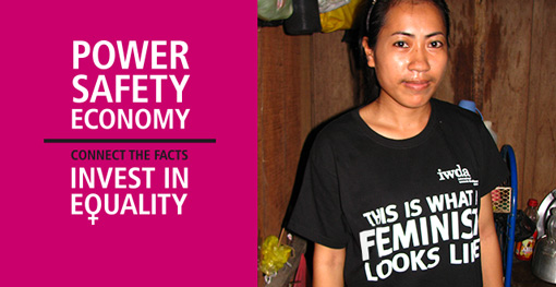 Image of a Cambodian Garment worker