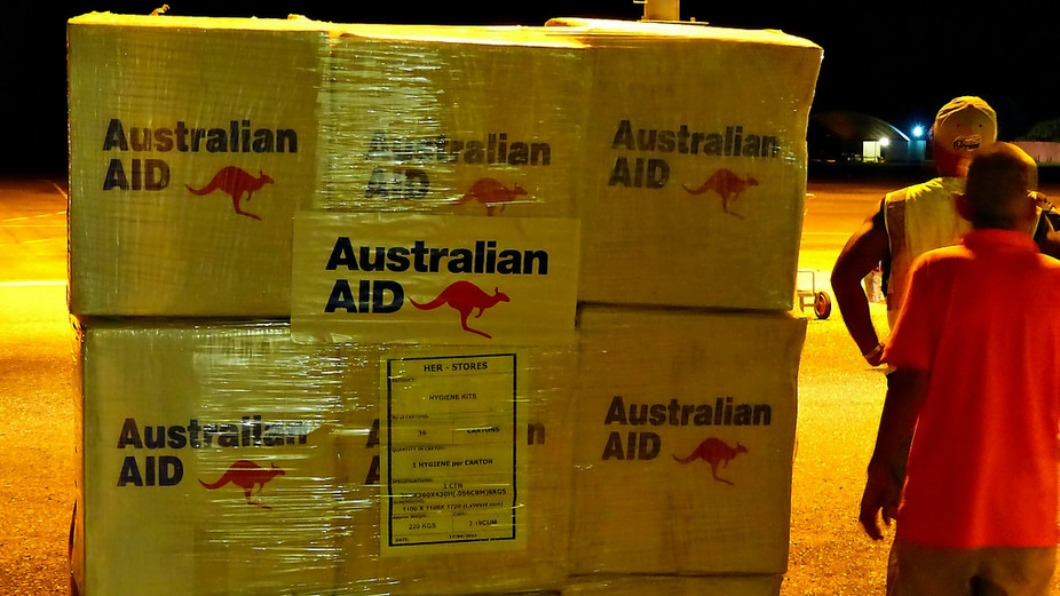 Image of Australian Aid packages