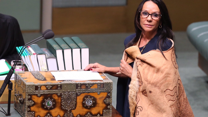 Linda Burney. Photo: NITV/Twitter
