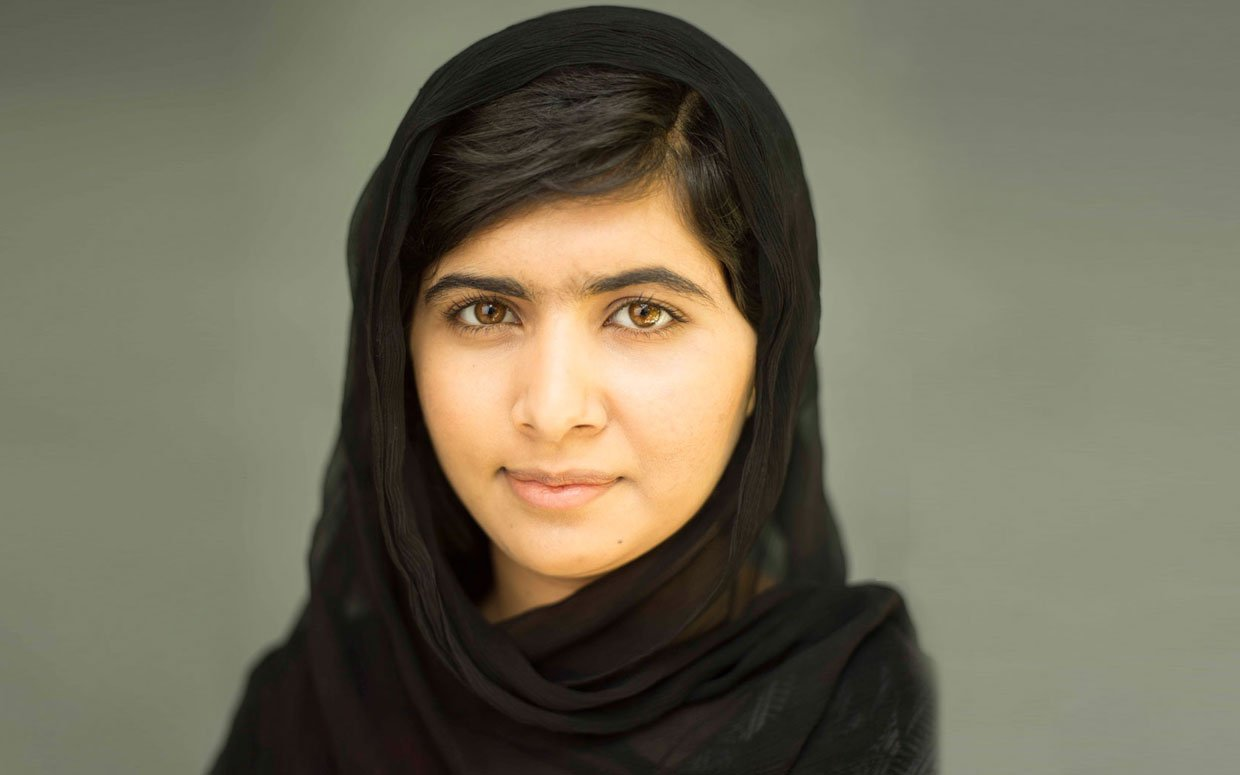 Malala Yousafzai. Photo: Antonio Olmos