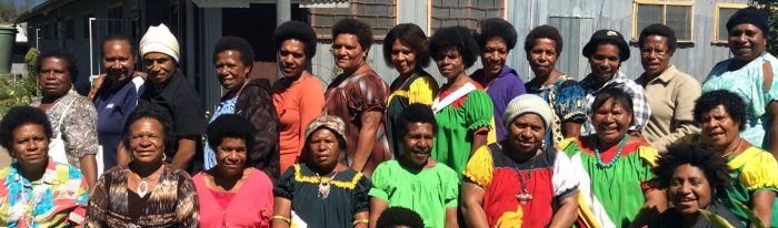 Women's human rights defenders in Papua New Guinea.