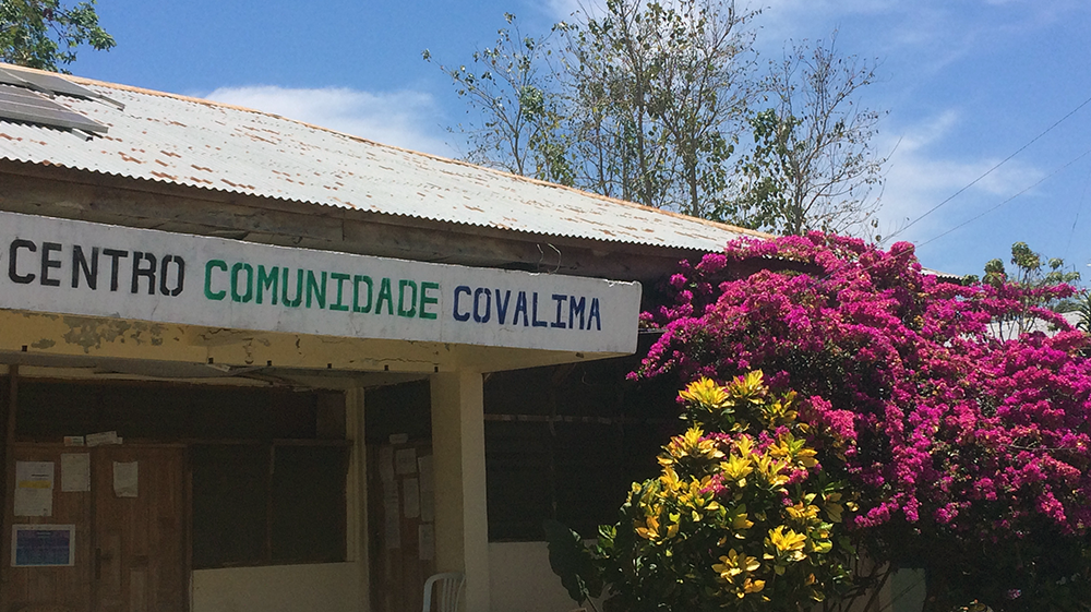 Covalima Community Centre. Photo: Sophie Purdue
