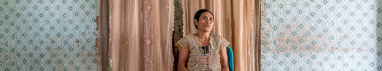 Image of woman in Timor-Leste talking