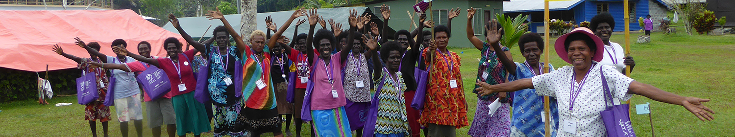 Image of women human rights defenders in Bougainville